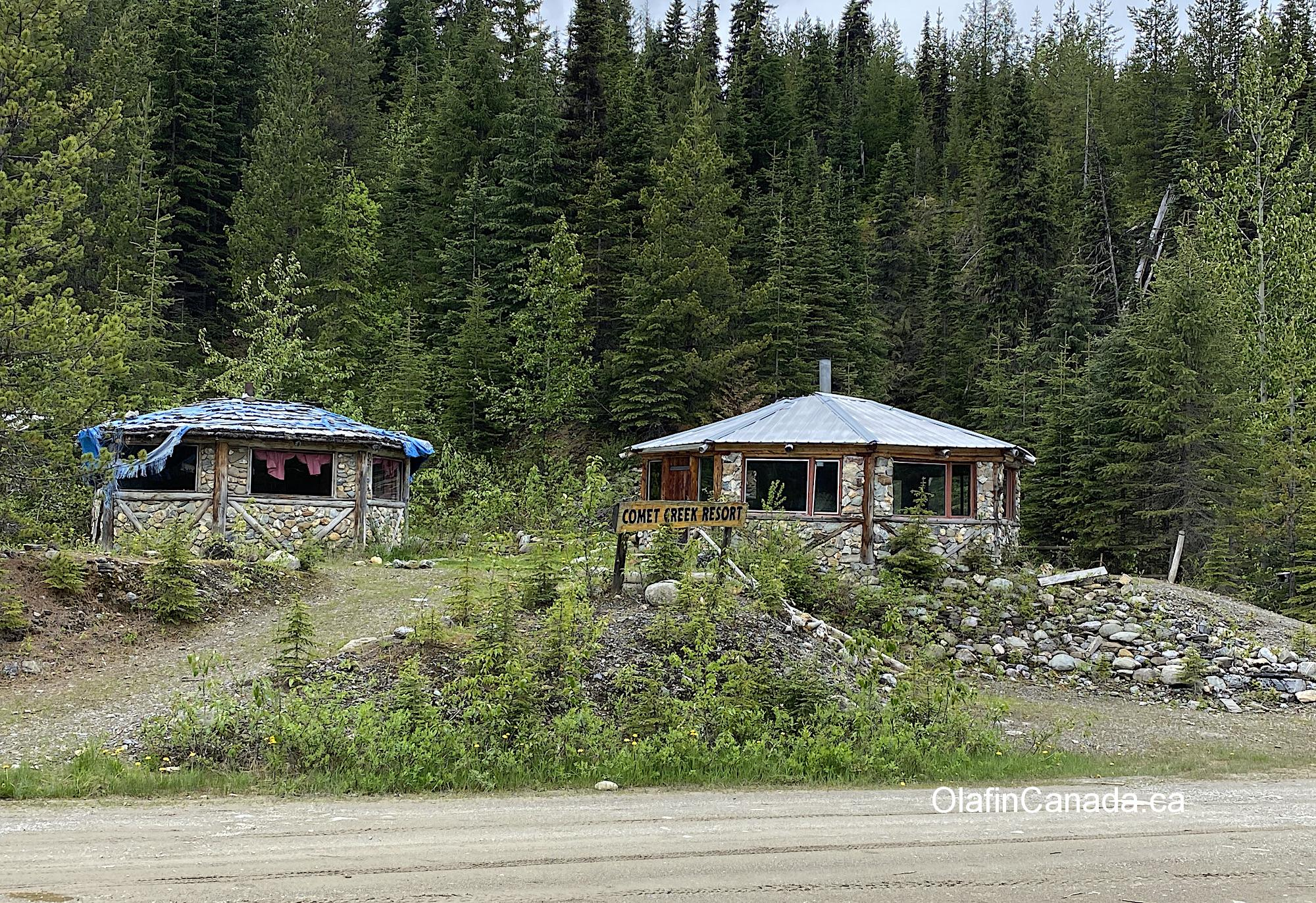 Abandoned Comet Creek Resort in the Cariboo between Likely and Barkerville  #olafincanada #britishcolumbia #discoverbc #abandonedbc #cariboo #cometcreekresort