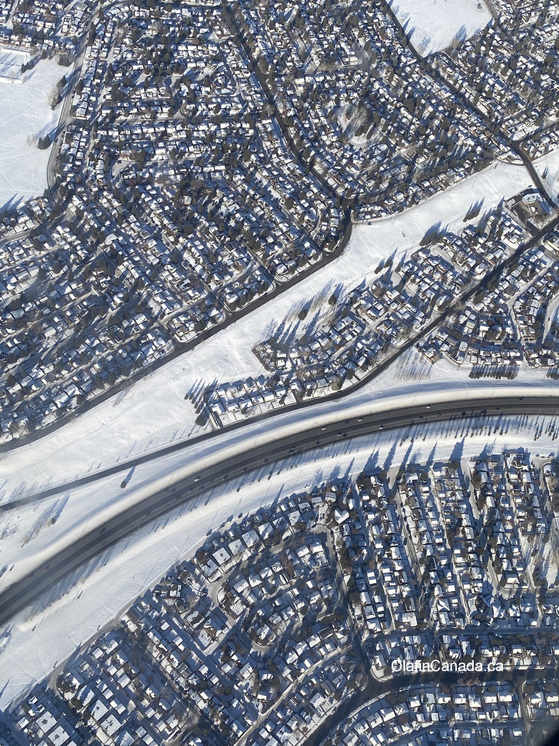 Suburbs from above, Calgary Alberta #olafincanada #alberta #calgary