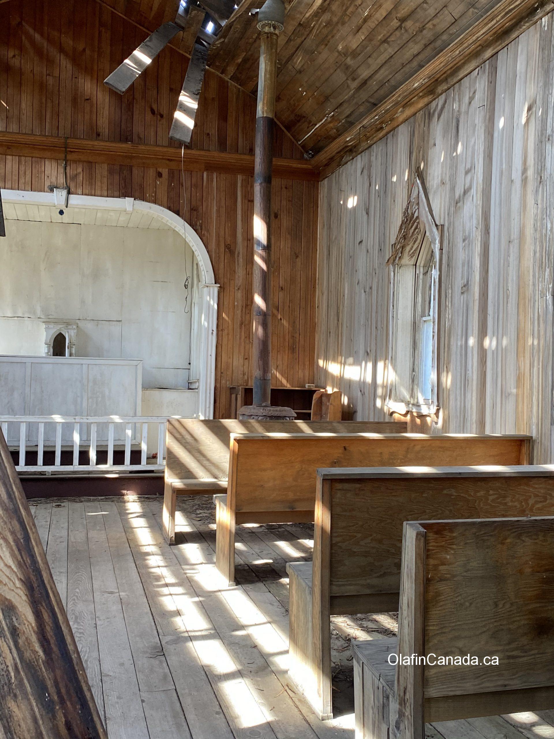 Old church on Westside Road near Killiney Beach #olafincanada #britishcolumbia #discoverbc #abandonedbc #church