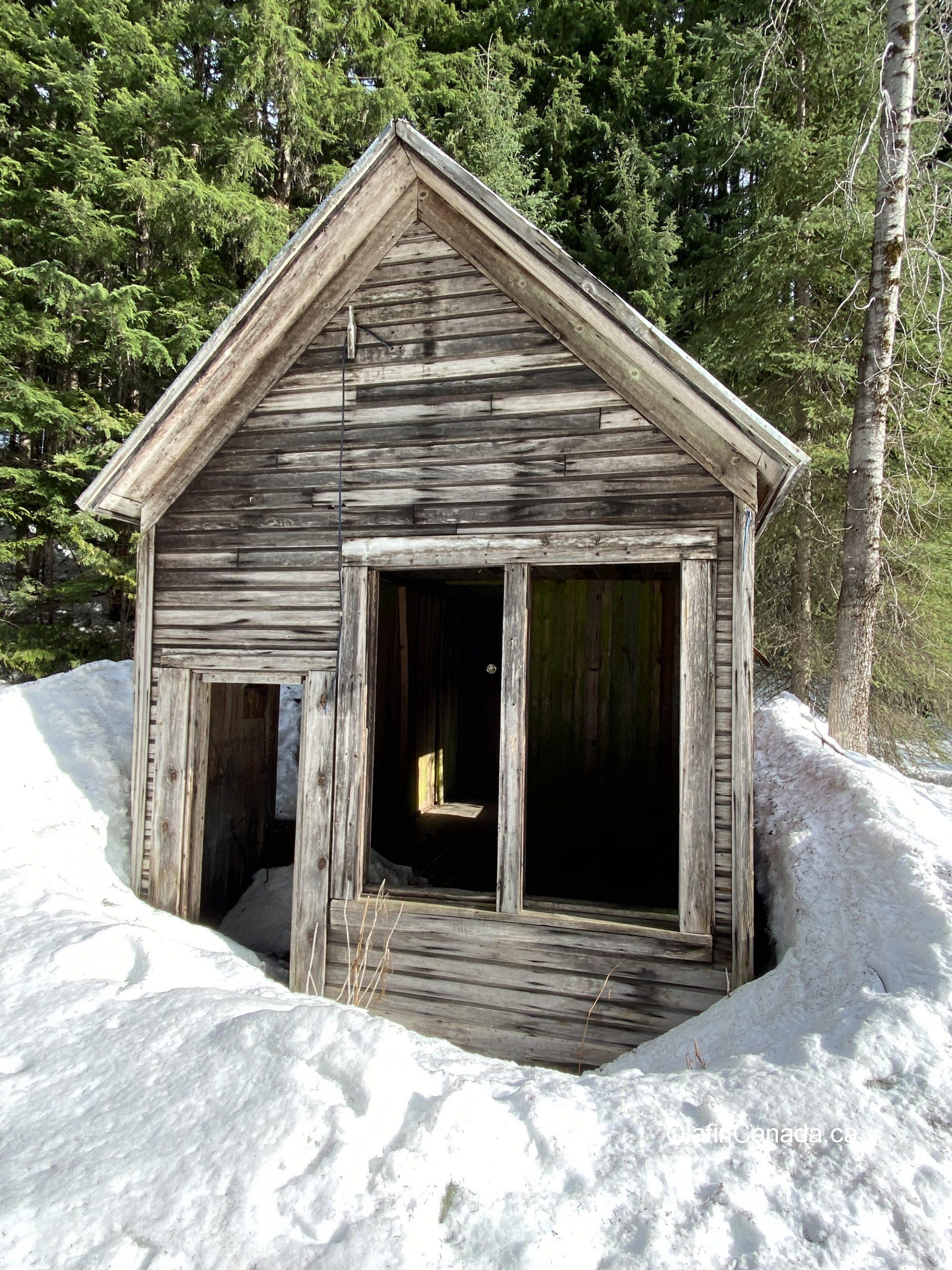 Cody house empty #olafincanada #britishcolumbia #discoverbc #abandonedbc #cody