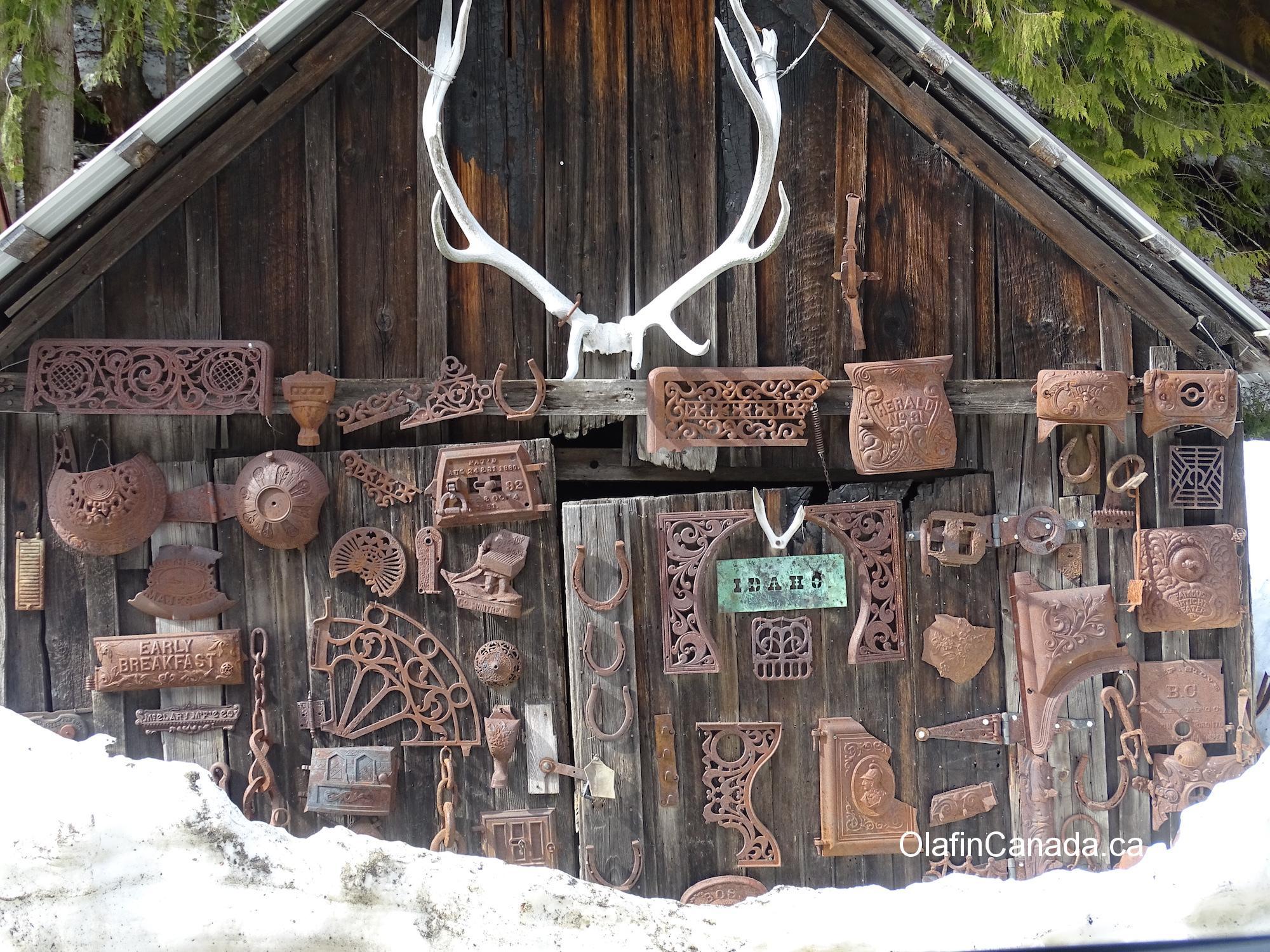 Old shack between Sandon and Cody #olafincanada #britishcolumbia #discoverbc #abandonedbc #cody