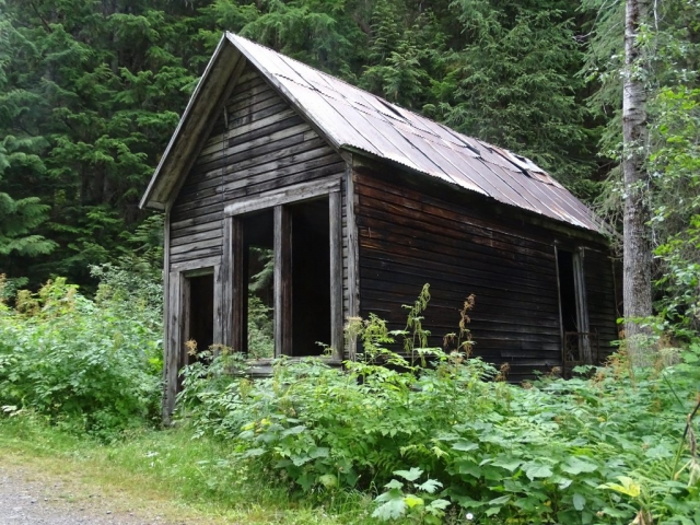 Abandoned house in Cody #olafincanada #britishcolumbia #discoverbc #abandonedbc #cody