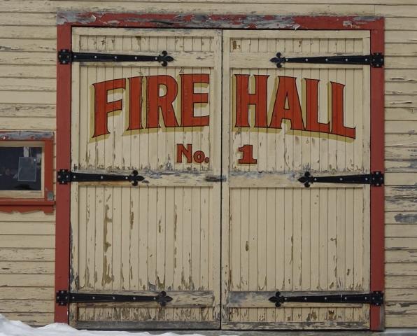 The old fire hall in Sandon has seen busier days #olafincanada #britishcolumbia #discoverbc #abandonedbc #sandon