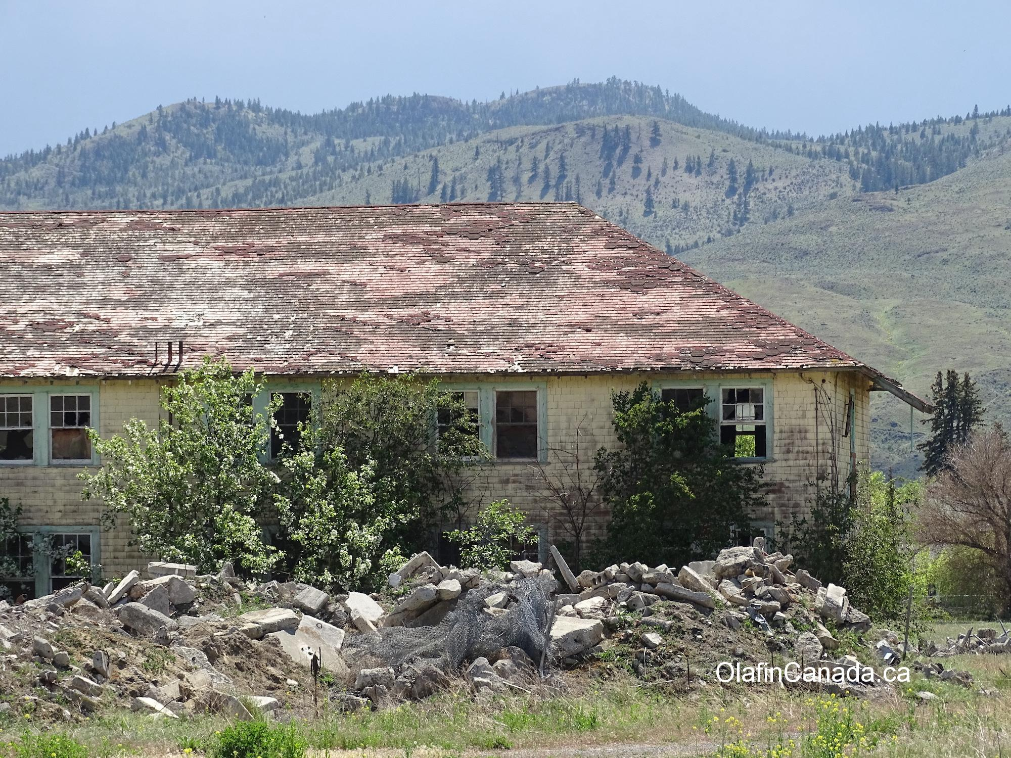 Meadowview dormitory in Tranquille near Kamloops. #olafincanada #britishcolumbia #discoverbc #abandonedbc #tranquille