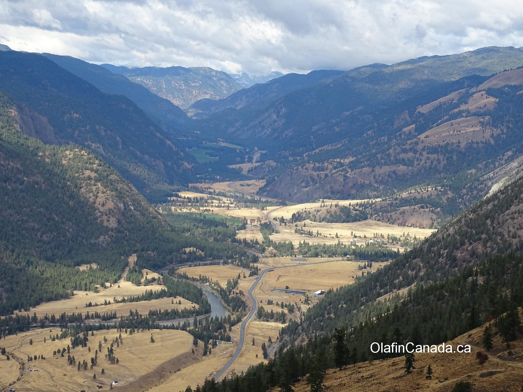 Hedley valley seen from the entrance of the French Mines #olafincanada #britishcolumbia #discoverbc #hedley #valleyview