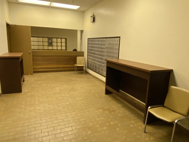 Post office in the mall in Kitsault #olafincanada #britishcolumbia #discoverbc #abandonedbc #kitsault