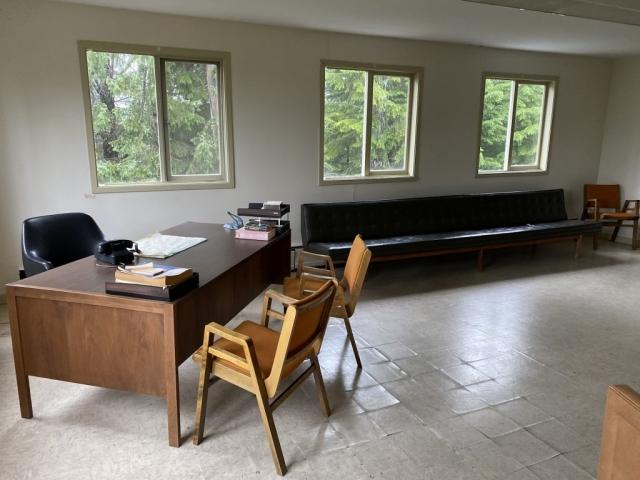 Doctor office in Kitsault #olafincanada #britishcolumbia #discoverbc #abandonedbc #kitsault