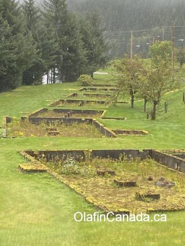 Houses that were moved from Kitsault #olafincanada #britishcolumbia #discoverbc #abandonedbc #kitsault