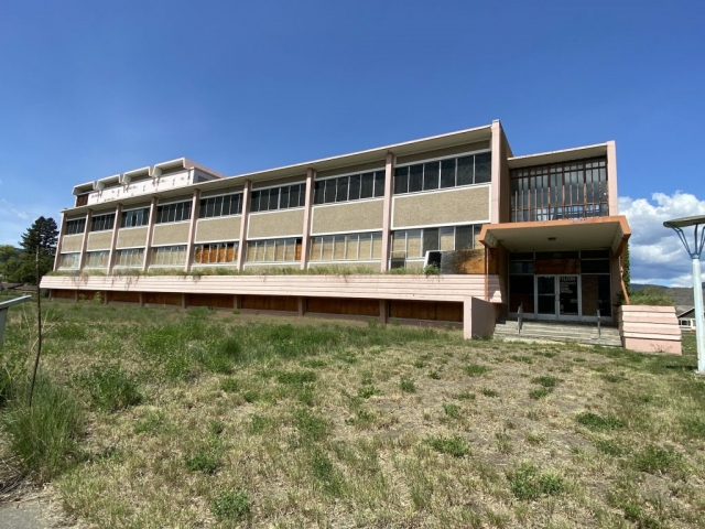 Sage hospital in Tranquille near Kamloops. #olafincanada #britishcolumbia #discoverbc #abandonedbc #tranquille