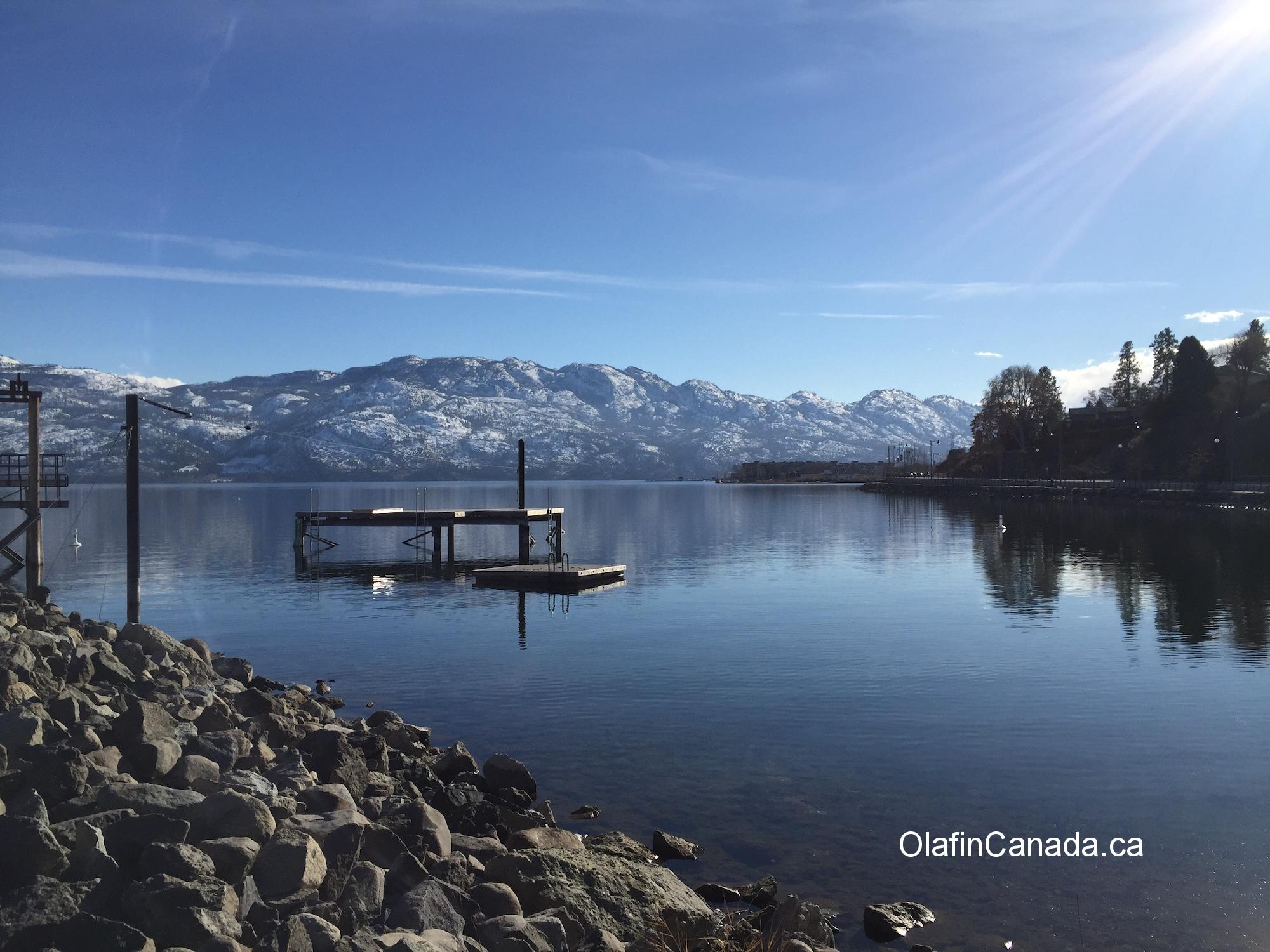 Okanagan Lake in West Kelowna #olafincanada #britishcolumbia #discoverbc #okanaganlake #westkelowna #sunshine