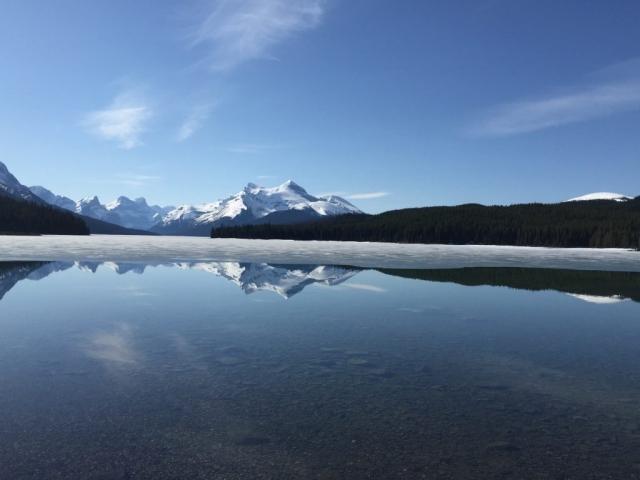 Maligne Lake in Alberta #olafincanada #alberta #rockies #malignelake #jasper