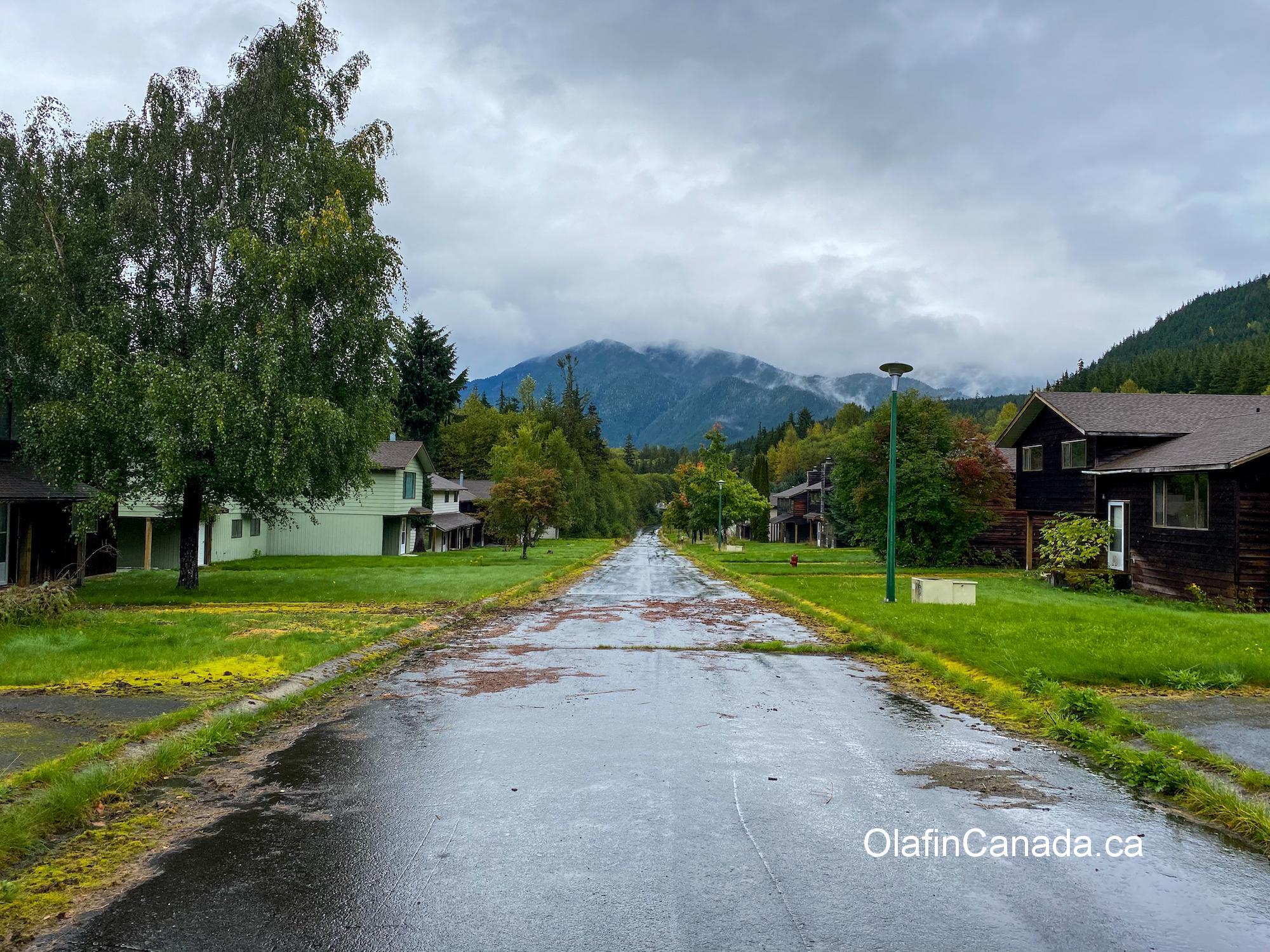 abandoned road in Kitsault BC #olafincanada #britishcolumbia #discoverbc #abandonedbc #kitsault