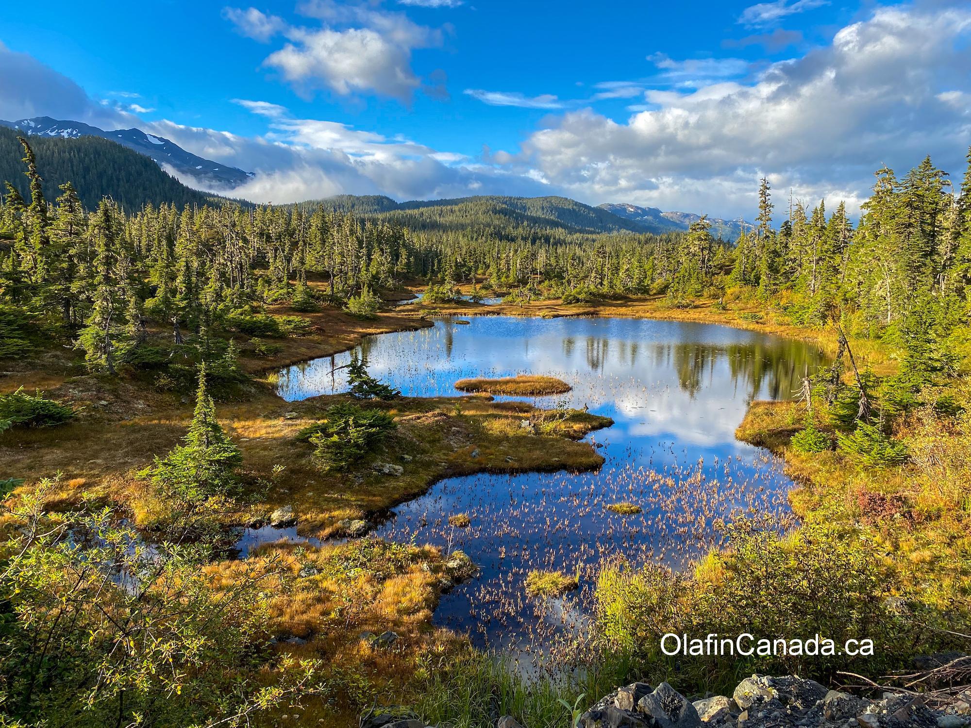 Mountain lake near Kitsault BC #olafincanada #britishcolumbia #discoverbc #kitsault #mountainlake