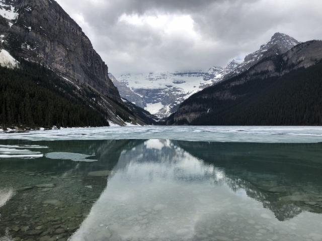 Lake Louise during the winter #olafincanada #alberta #rockies #lakelouise