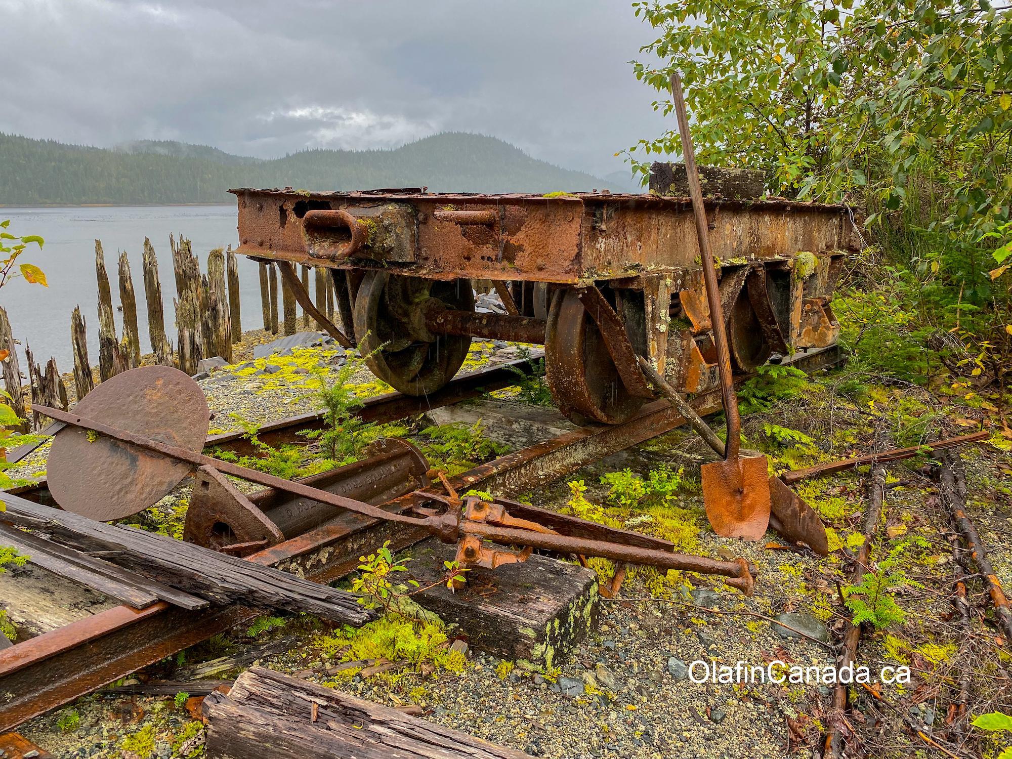 Abandoned rail car in Anyox #olafincanada #britishcolumbia #discoverbc #abandonedbc #anyox