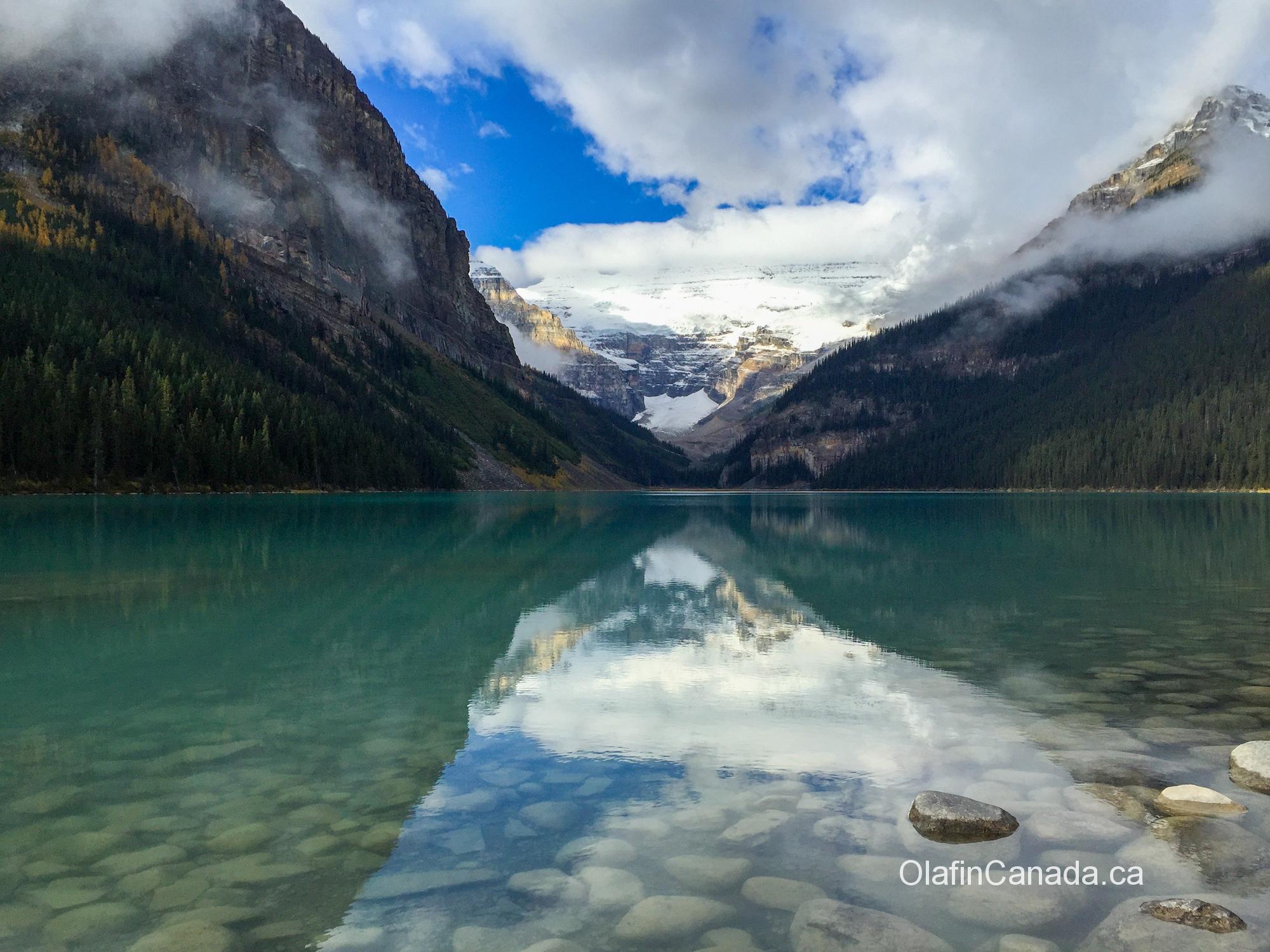 Lake Louise in the Rockies, Alberta #olafincanada #alberta #rockies #lakelouise