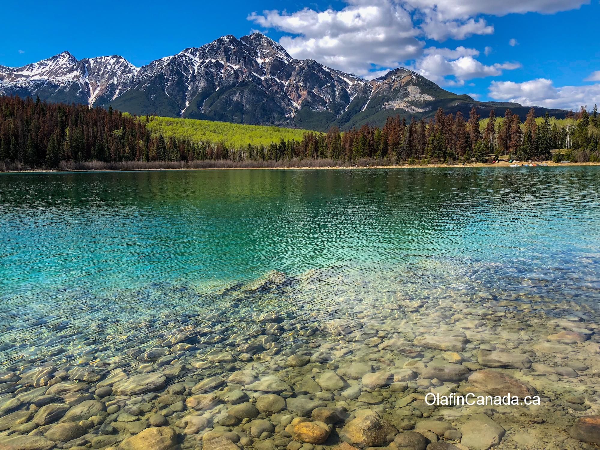 Patricia Lake in Jasper, Alberta #olafincanada #alberta #rockies #patricialake #jasper