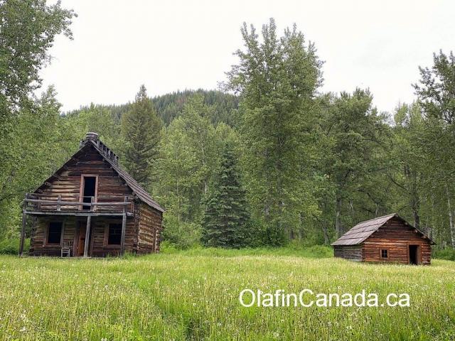 Community Hall at Main Street in Quesnel Forks #olafincanada #britishcolumbia #discoverbc #abandonedbc #cariboo #quesnelforks