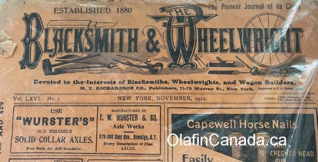 Blacksmiths bulletin at the General Store in 153 Mile House #olafincanada #britishcolumbia #discoverbc #abandonedbc #153milehouse #generalstore #backintime