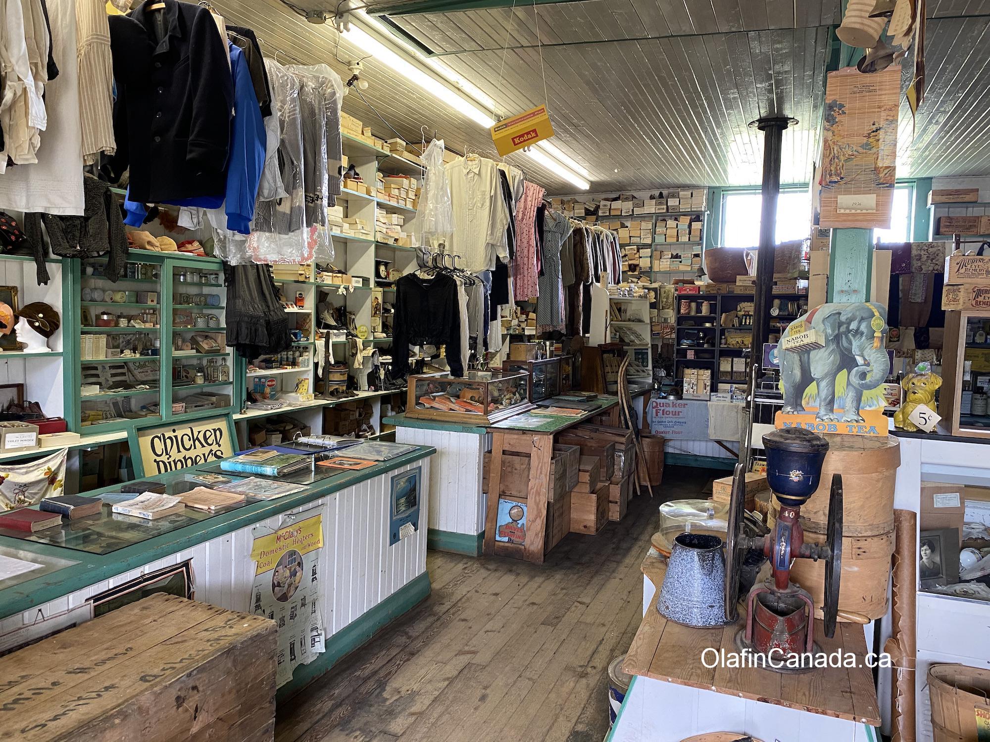 General Store in 153 Mile House #olafincanada #britishcolumbia #discoverbc #abandonedbc #153milehouse #generalstore #backintime